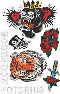 Kit Tatuagens Lutador