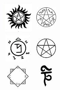 08 Símbolos Supernatural