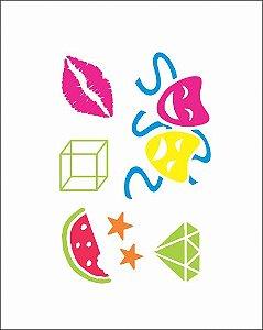 NEON 08 - Mascaras, Diamantes e Melancia