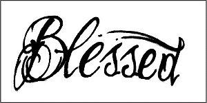 Tatuagem Blessed