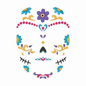 Face Tattoo - Catrina 01