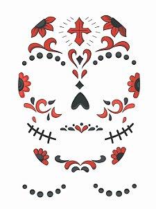 Face Tattoo - Catrina 02