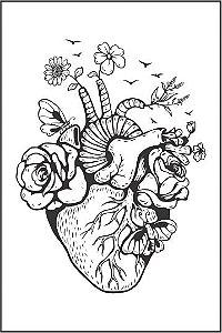 Tatuagem Coração PB| VR07