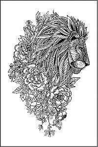 Tatuagem Leão PB| VR08