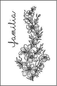 Tatuagem Flores e Família PB| VR014