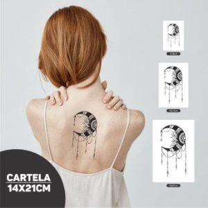 Tatuagem Lua VR01 | PB
