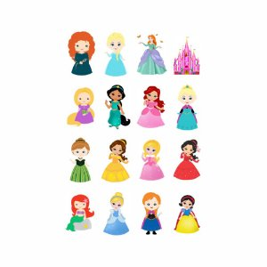 010 | KIT FESTA 16  - Princesas