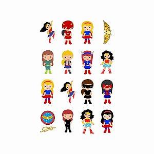 012 | Kit Festa 16 Grande Heroínas