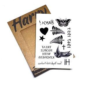 Tatuagem Perfumada | Harry Styles | Modelo 02