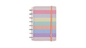 Caderno Arco-Iris Pastel - Medio Caderno inteligente