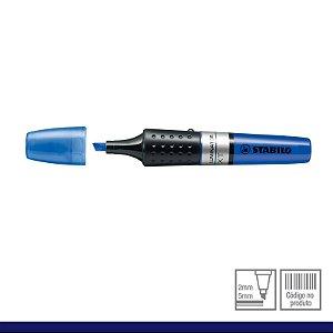 Marca Texto iluminator  (Cor Azul)- Stabilo