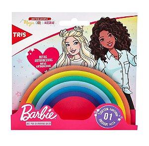 Notas Autoadesivas Arco iris Barbie - Tris
