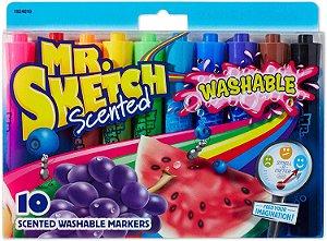 Kit de Marcadores Aromatizados Mr Sketch Scent ( 10 Cores)