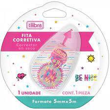 Fita Corretiva Be Nice - Tilibra