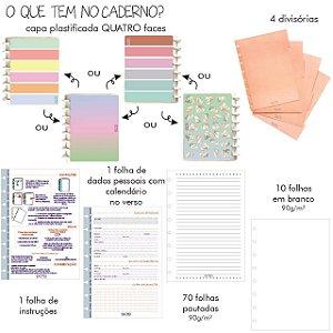 Caderno Colors  ( Tamanho A5) - Octo