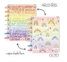 Caderno Arco Iris (Tamanho A5) - Octo