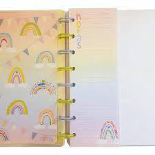 Refil Bloco de Notas Caderno  de Discos - Octo