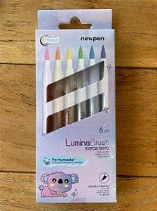 Brush Lumina Pastel ( 6 Cores) - New Pen