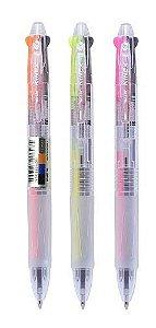 Caneta Esferográfica  3 cores em 1 caneta -  Molin