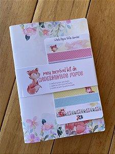 Meu incrível kit  de Caderninhos Fofos - Raposinha da Gli