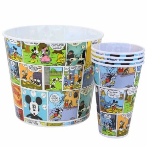 kit de Pipoca  5 Pcs Mickey Mouse HQ Colors