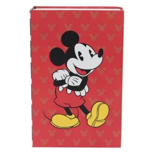 Cofre Livro Mickey Mouse