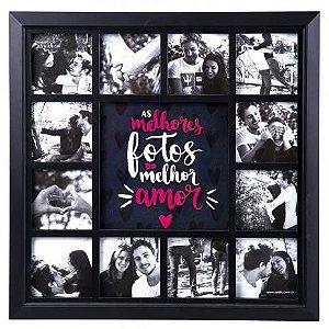 Mural Insta 12 fotos - Melhor amor