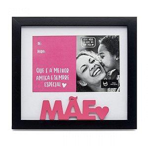 Porta Retrato Cartão Melhor Mãe