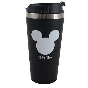 Copo Viagem Emborrachado 450 ml Mickey Mouse