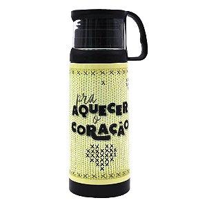 Squeeze Térmica com Caneca 350 ml - Pra Aquecer
