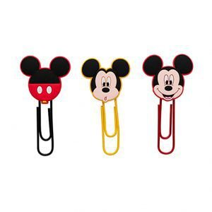 Clips Mickey 50mm ( kit com 4 unidades)