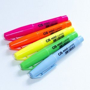 Mini Marca Texto Cis Lumini Neon