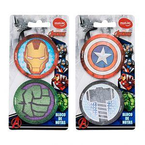 Bloco de Notas Adesivas  Avengers - Molin