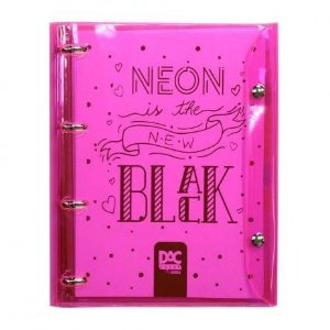 Fichário Neon Bublle -Dac