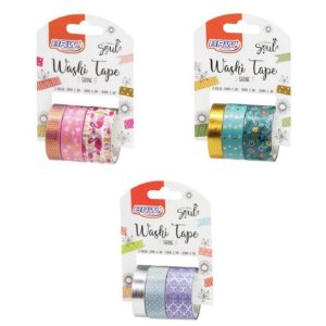Washi Tape Shine Soul kit 3 un- BRW