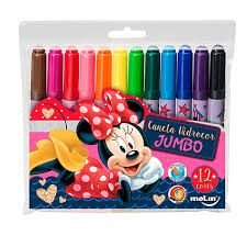 Caneta Hidrocor Jumbo -MInnie