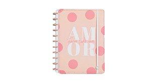 Caderno Cor-de-Rosa (Grande) Caderno Inteligente