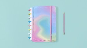 Caderno Candy Splash  A5 - Caderno Inteligente