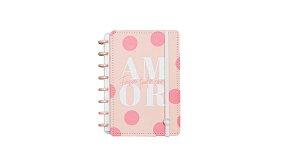 Caderno Cor-de-Rosa  A5 - Caderno Inteligente