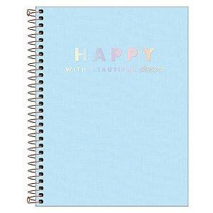Caderno Universitário Happy - Tilibra