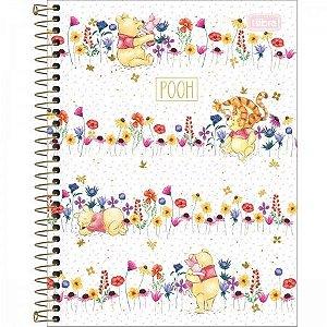 Caderno Colegial Pooh - Tilibra
