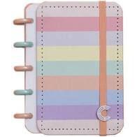 Caderno Arco-Iris Pastel  Inteligine - Caderno Inteligente