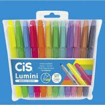 Marca Texto Lumini ( 12 cores) - Cis
