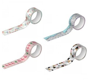 Washi Tape Estampada - Tilibra