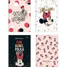 Caderno Brochura Minnie - Tilibra