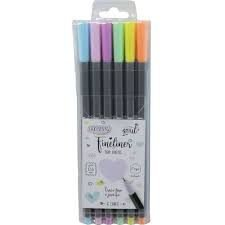 Caneta Fineliner Tons Pastel  0.4mm - BRW