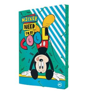Pasta Aba Elástica Ofício com Lombo de 3 cm Mickey - Dac