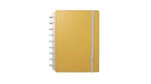 Caderno Laranja Pastel - A5