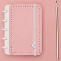 Caderno Rose Pastel  Inteligine - Caderno Inteligente