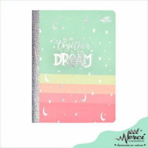 Caderno Brochura Dreams Colegial - Merci